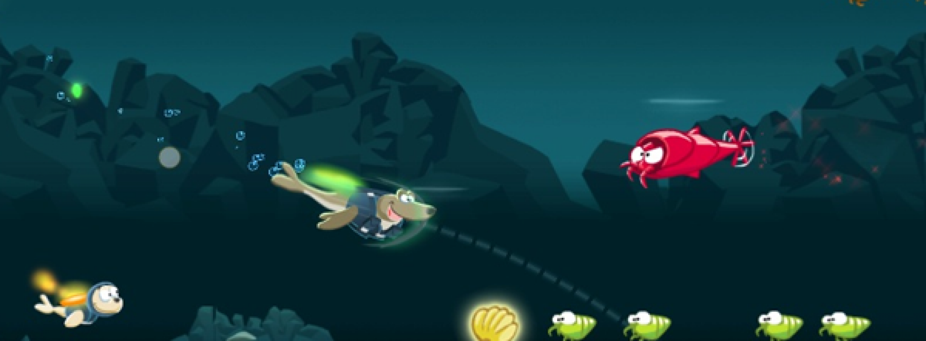 Seal Force fights to rid the ocean of toxic neon krill!