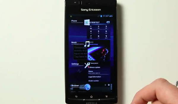 Sony Ericsson 40 ROM Feature