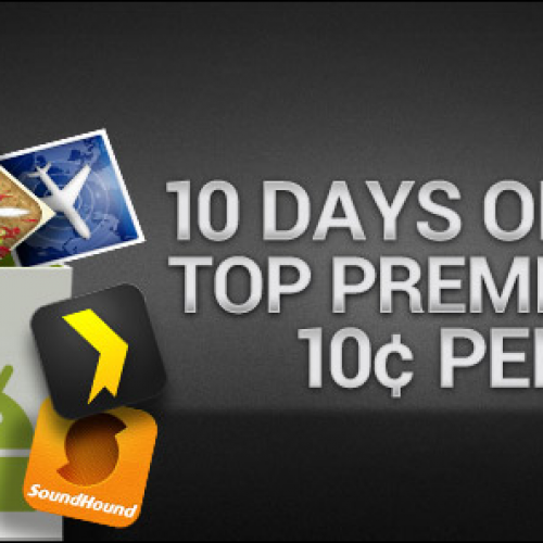 Google celebrates 10 billion Android downloads with 10 days of 10¢ apps!