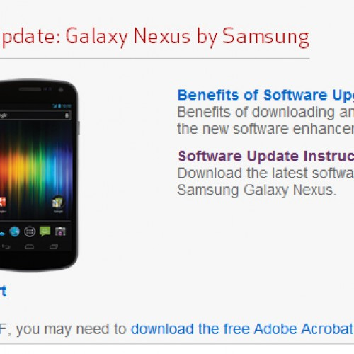 Expect your first Verizon Galaxy Nexus update to arrive a couple hours after booting up