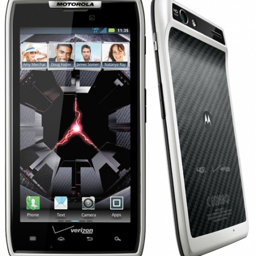 Verizon announces the release of another phone that isn't the Galaxy Nexus – White DROID RAZR available tomorrow