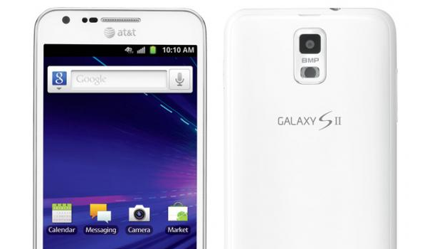 White Galaxy S Ii Skyrocket