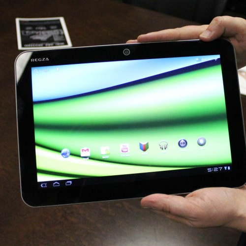 "Toshiba launches Excite X10 at CES, redefines the term ""sexy tablet"""