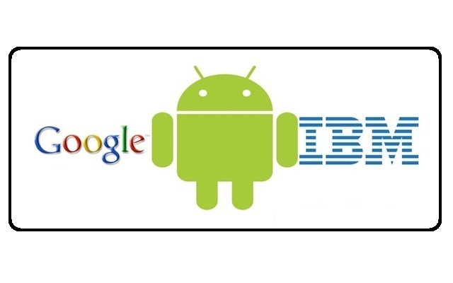Google Android IBM Patent