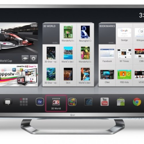 LG's New Google TV to Be Announced at CES 2012