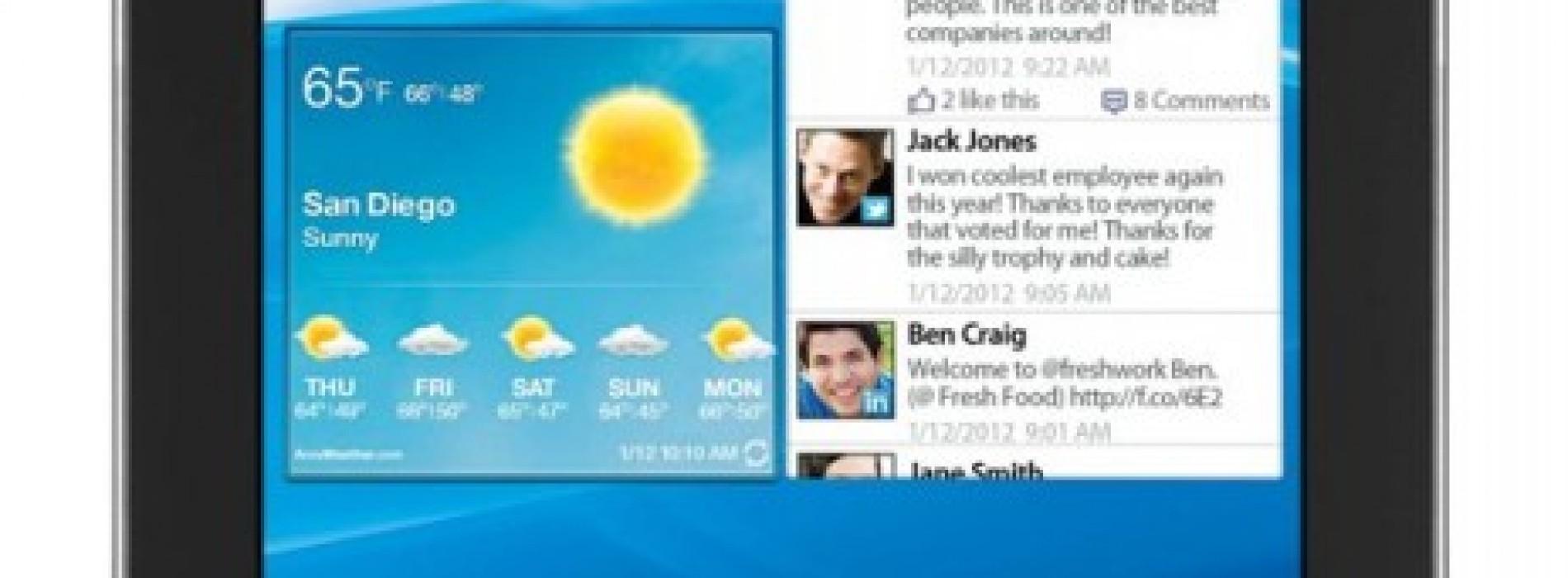 Verizon Announces World's Thinnest 4G LTE Tablet – Galaxy Tab 7.7