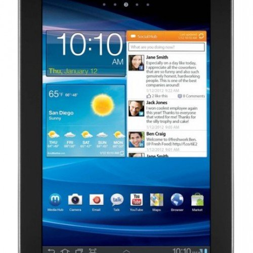 Verizon Announces World's Thinnest 4G LTE Tablet – Galaxy Tab 7.7