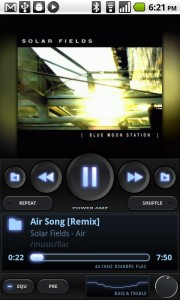 Screenshot PowerAMP