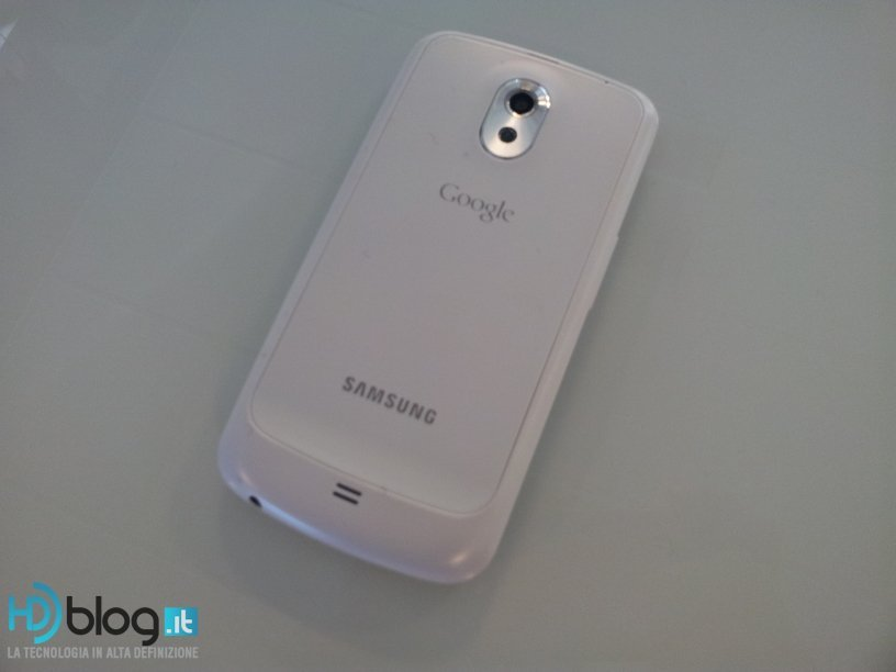White Galaxy Nexus Back