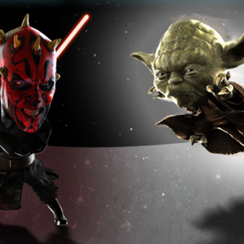 Brisk Iced Tea brings Brisksaber app to Android, gives geeks a Yoda vs. Darth Maul showdown