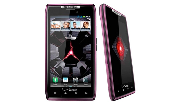 Droid Razr Purple