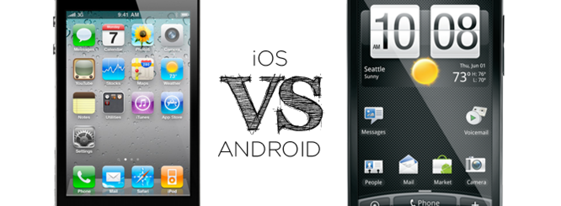 """""""Android vs iPhone"""" where are they now?"""