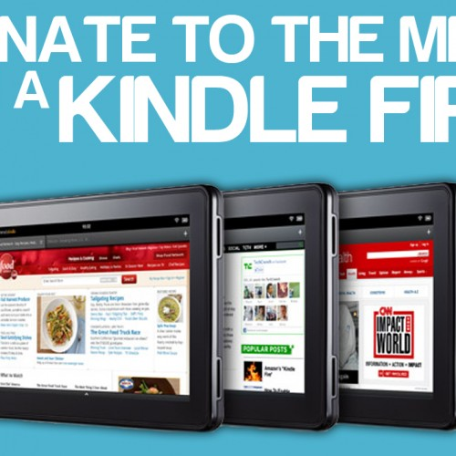 Donate to the MDA, win a Kindle Fire!