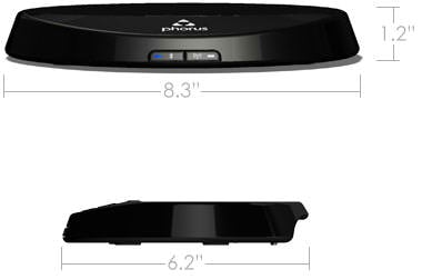 Playcast Receiver Dimensions