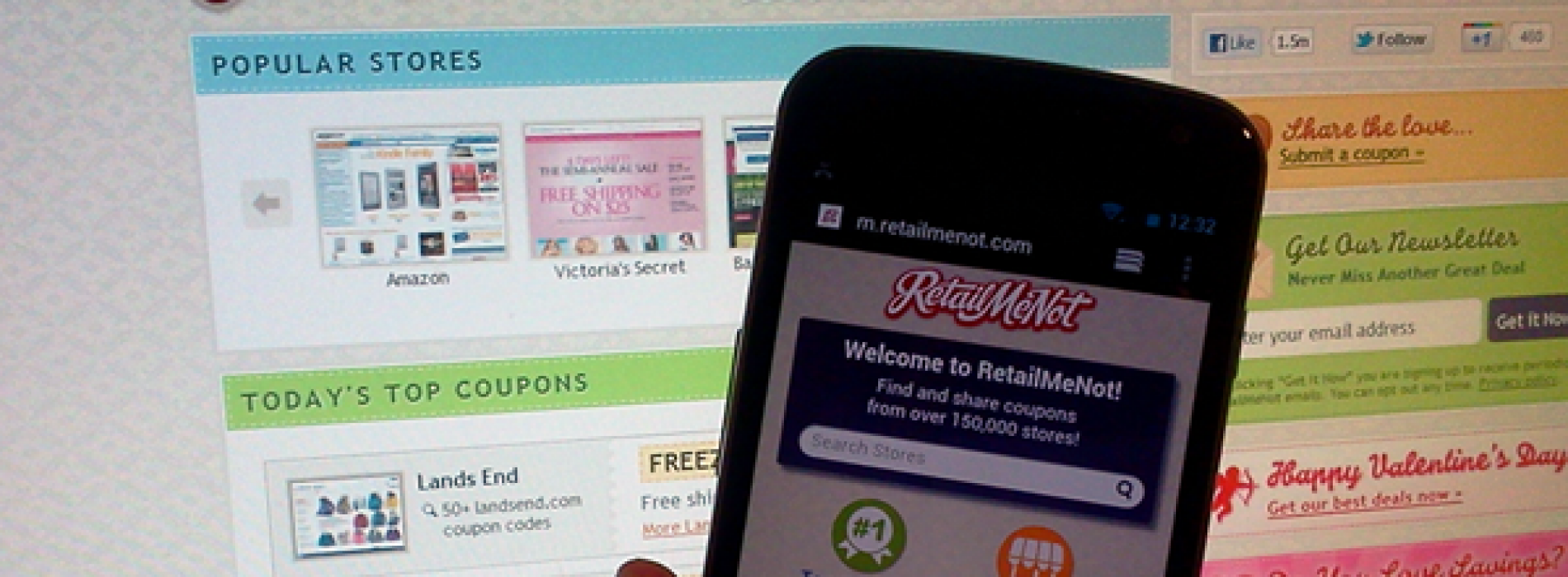 RetailMeNot debuts new mobile site for Android users