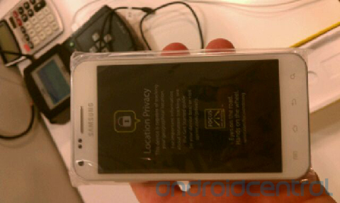 Sprint Epic 4g Touch White