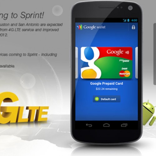 Sprint officially announces LTE and Galaxy Nexus, as expected