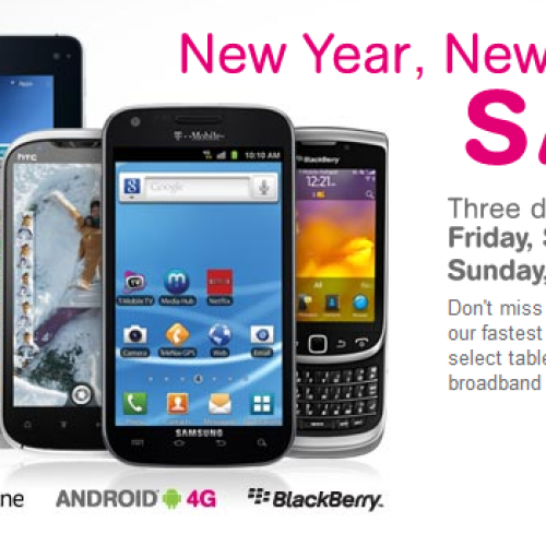 "T-Mobile to hold ""New Year, New Phone Sale"" this weekend"