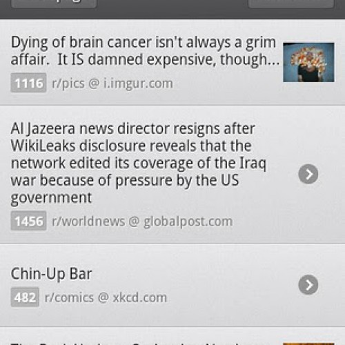 BaconReader for Reddit Gets Updated with New Features
