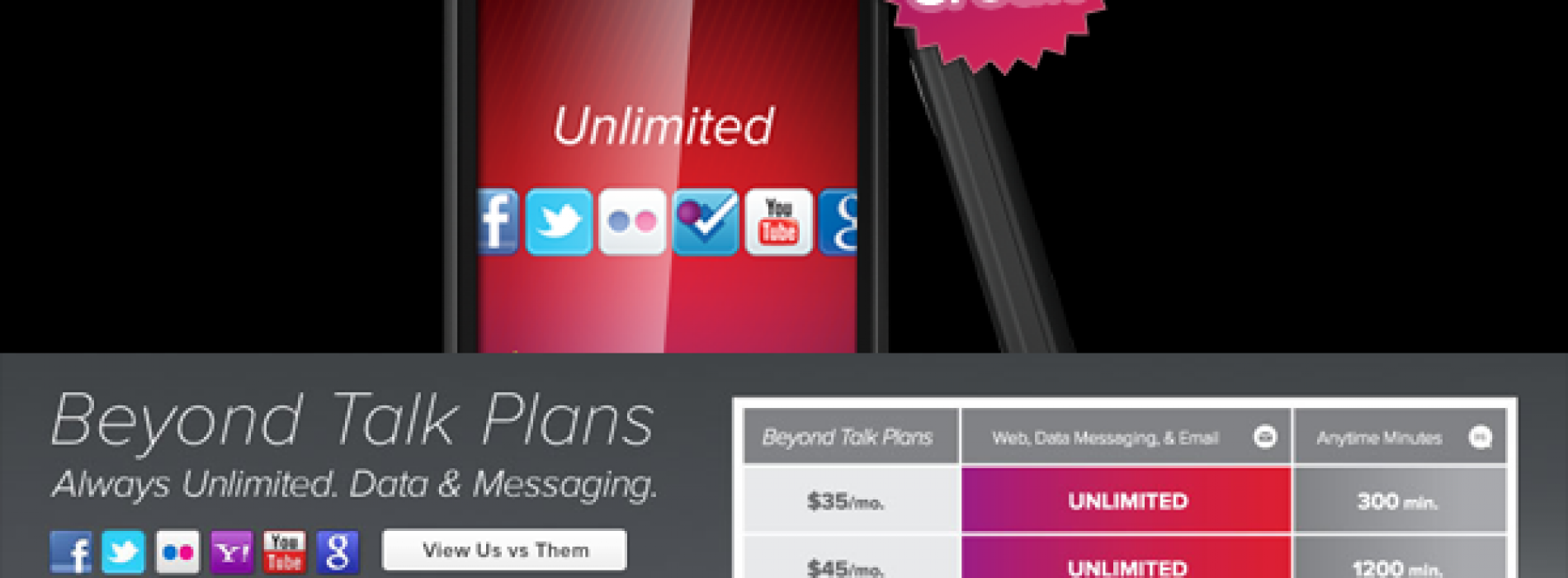 Virgin Mobile to implement 'data speed reduction' (throttling) on March 23