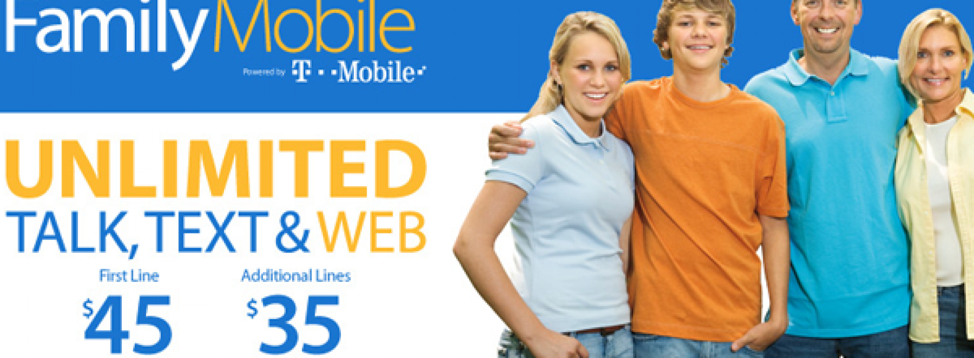 T-Mobile and Walmart add unlimited web to Unlimited Talk & Text plan