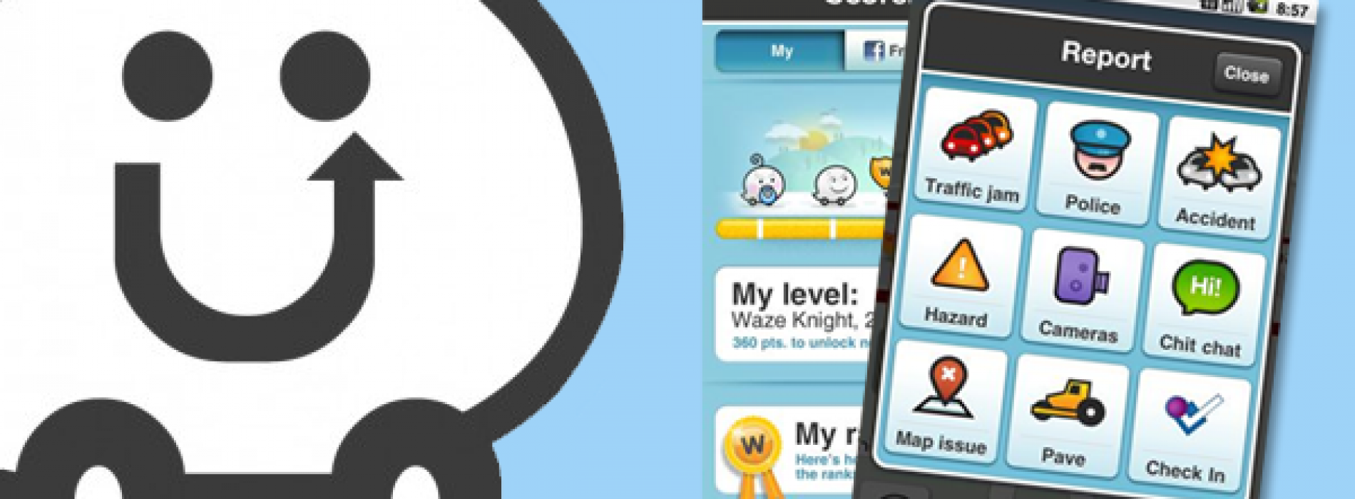 Waze 3.0 arrives with redesigned look, social integration