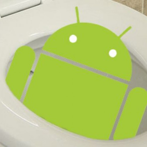 Survey shows Android users more likely to use their devices on the toilet