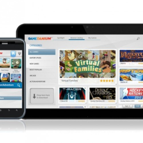 Exent launches GameTanium service for Android tablets