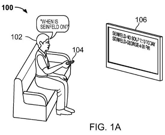 Google TV patent