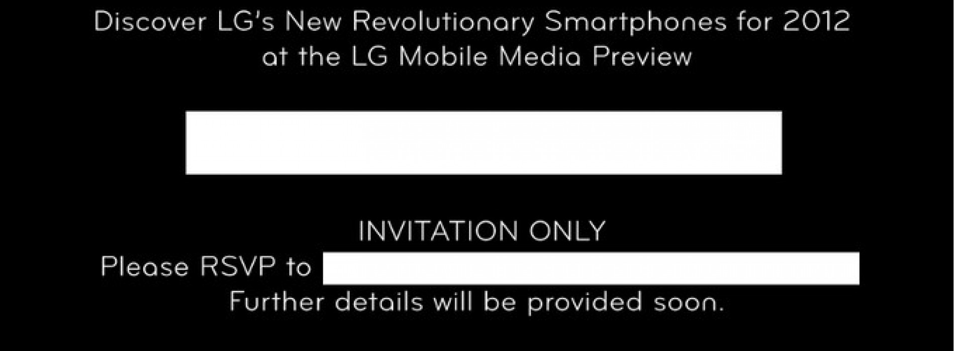 MWC 2012 Media Preview: LG Revolutionary Smartphones