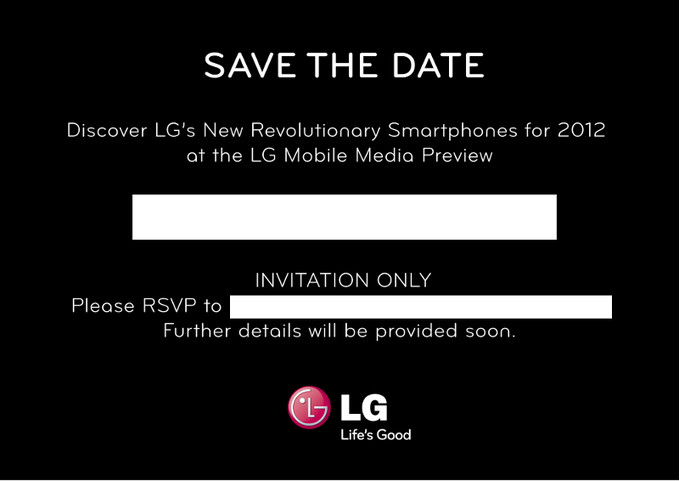 LG Preview At MWC