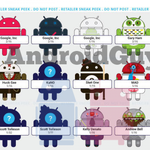 Series 3 of collectible Android figures leaked