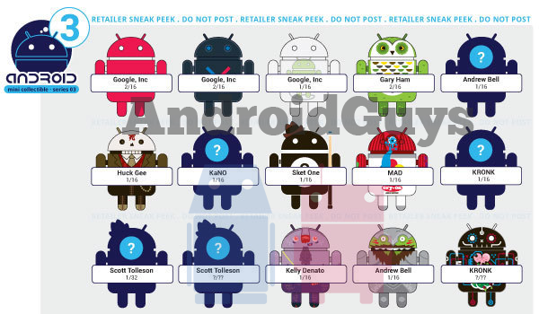 Android Collectible Series3 Leak Feature