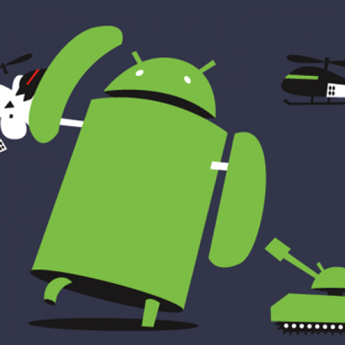 'Android Winning' is follow up to 'Andy Versus' t-shirt