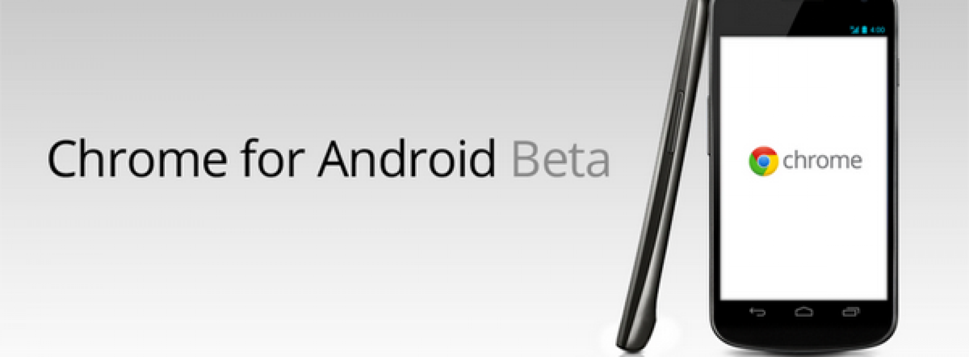Google Chrome Beta hits Android