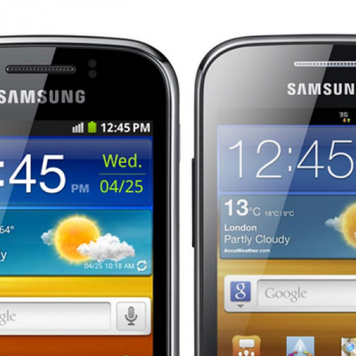 Samsung announces Galaxy Ace 2, Galaxy Mini 2