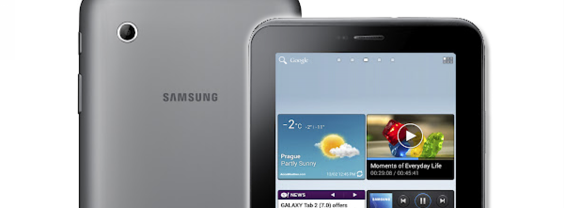 Samsung announces first 4.0 tablet. the GALAXY Tab 2 (7.0)