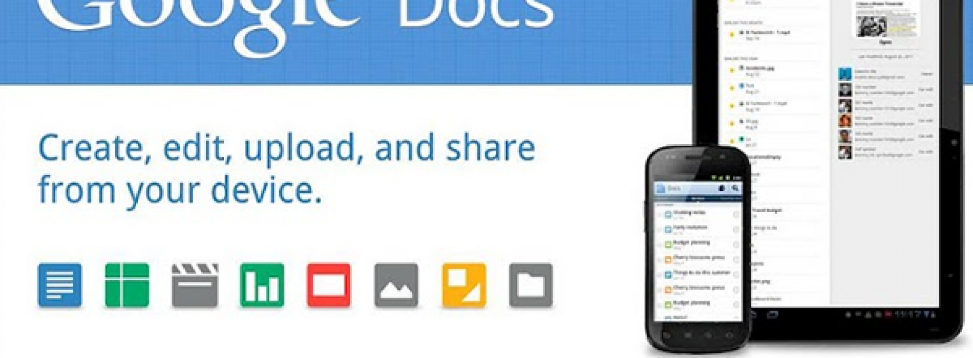 Google Docs for Android adds real-time collaboration, rich text