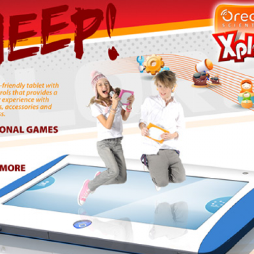Oregon Scientific announces MEEP! Android tablet, aimed at kids