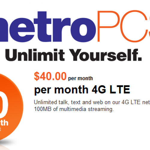 MetroPCS extends $40 rate plan to 4G LTE Android devices