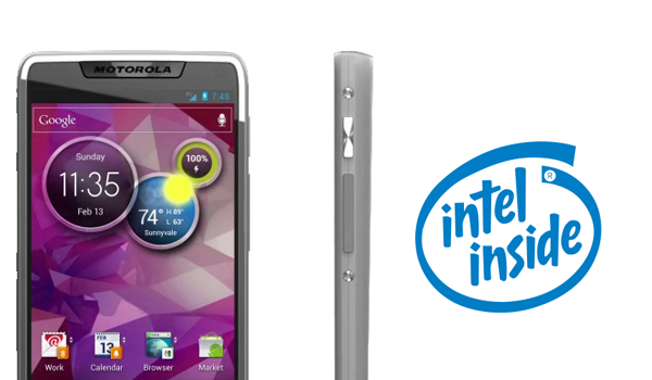 Motorola Intel Render Feature