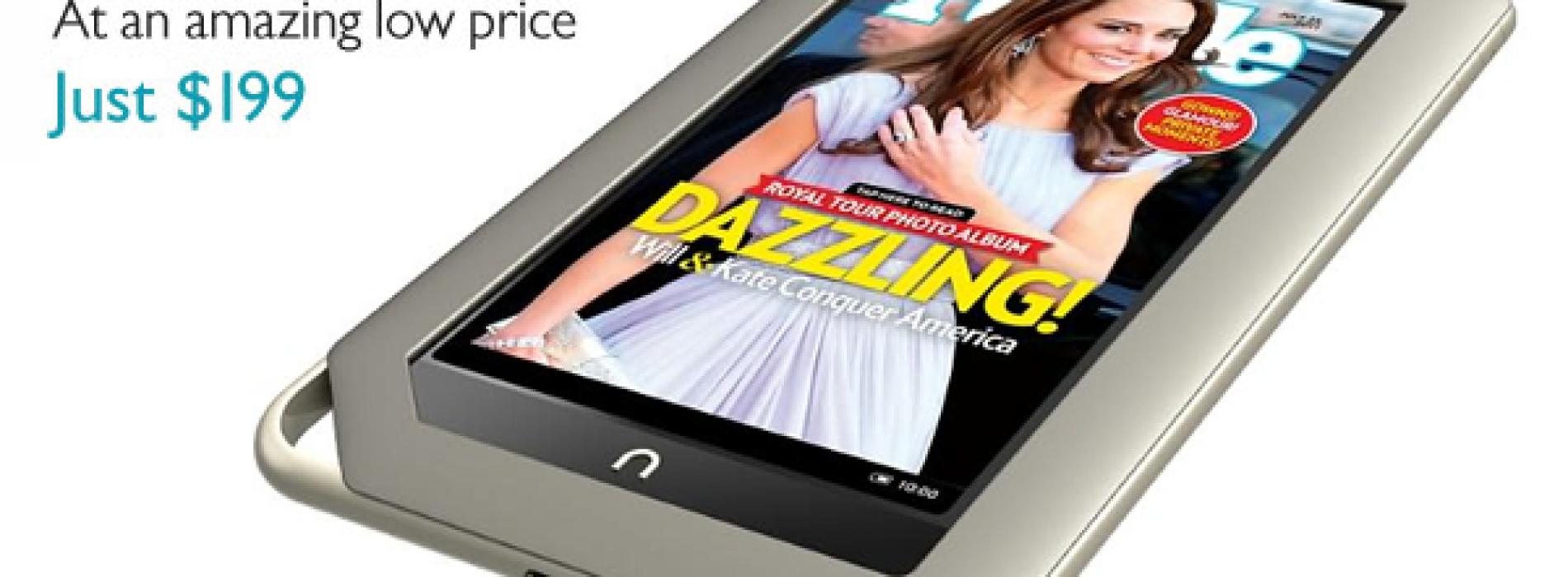 Barnes & Noble announces $199 Nook Tablet, $169 Nook Color