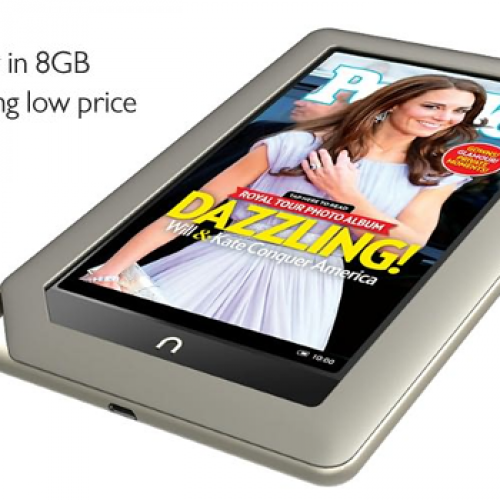 Barnes & Noble announces $199 Nook Tablet, $169 Nook Color