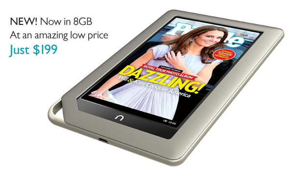 Nook Tablet 8gb Feature