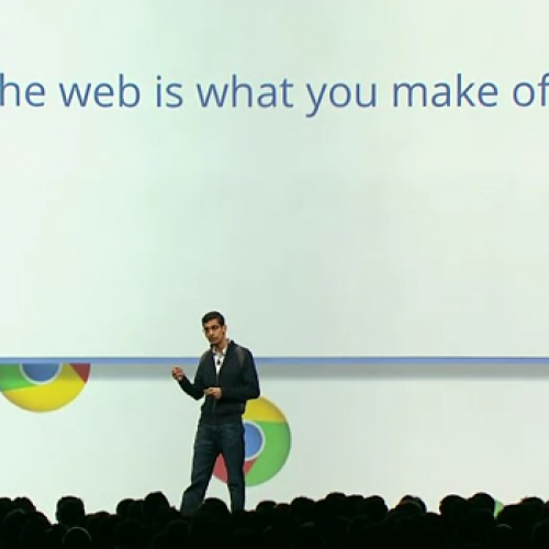 Google's Sundar Pichai chats future of Chrome, Android app