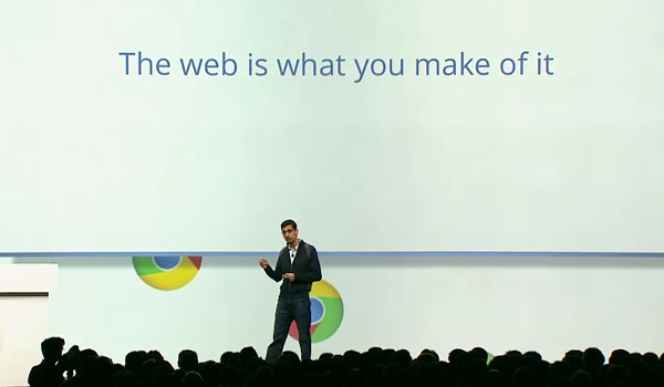 Pichai Stage Googleio Feature