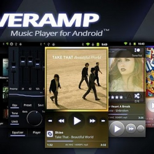 PowerAmp hits version 2.0.5, brings some new features