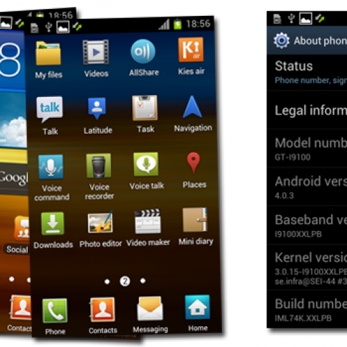 New Android 4.0.3 ROM found for Galaxy S II (I9100XXLPB)
