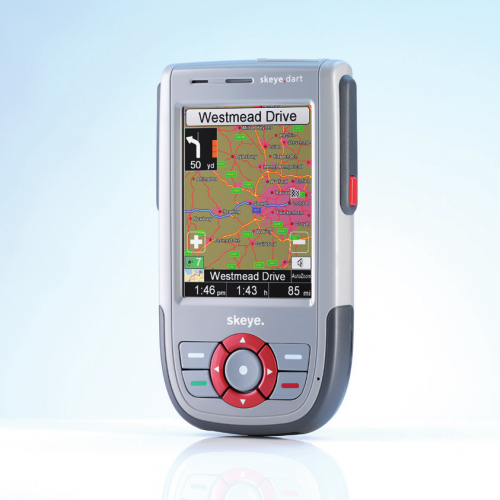 Skeye.dart, the PDA now features the Android OS
