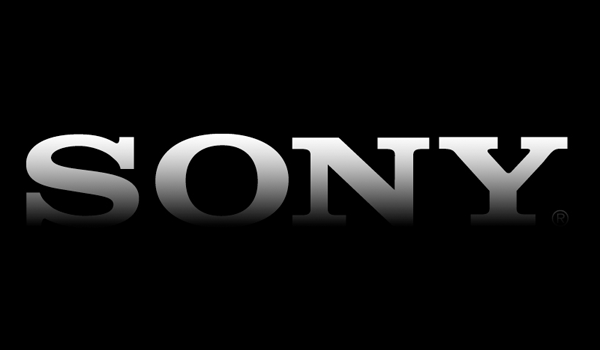 Sony Logo Simple Black Feature